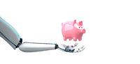 Humanoid Robot Hand Piggy Bank
