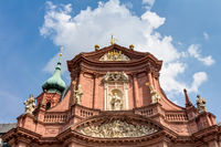 Neumünster in Wurzburg - splendid Catholic baroque parish church