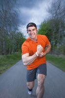 power for running blur