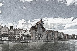Danzig, Polen   Gdansk, Poland