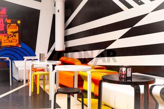 Biennale Arte 2019 Venice Futuristic Coffee corner