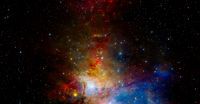 Universe galaxy. Elements of this image furnished by NASA
