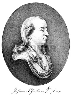 Johann Christian Kestner, 1741-1800, German jurist and archivist