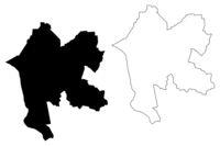 Livani Municipality (Republic of Latvia, Administrative divisions of Latvia, Municipalities and their territorial units) map vector illustration, scribble sketch Livani map