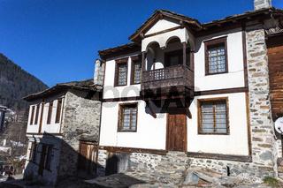 Old village houses. Bulgaria