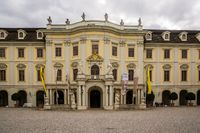 beautiful baroque castle in ludwigsburg