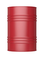 Red oil barrel