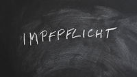 Impfpflicht translates as compulsory vaccination in German
