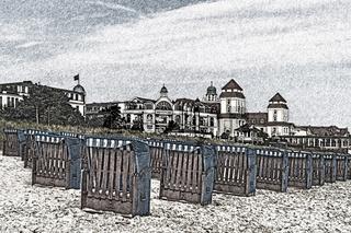 Ostseebad Binz, Deutschland   Baltic resort Binz, Germany