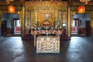Das chinesische Clanhaus Khoo Kongsi ist die Hauptattraktion der lokalen Kultur in George Town