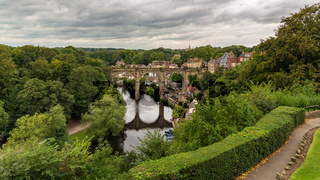 Knaresborough Viaduct, North Yorkshire, UK