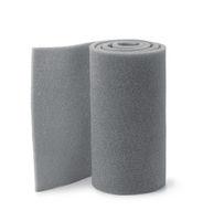 Roll of gray foam rubber sheet