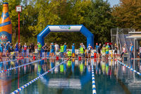 Ratingen/Germany/ North Rhine-Westphalia - September 20: 12th Stadtwerke Ratingen Triathlon a histor