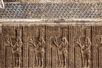Relief, Tempelanlage Dendera