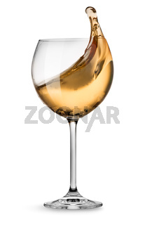 Moving white wine