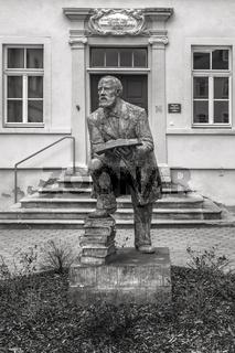Konrad Duden in Schleiz