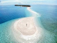 Kalanggaman Island, Malapascua, The Philippines - Aerial Photograph