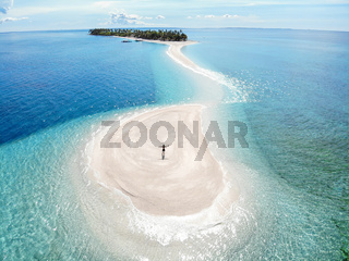 Kalanggaman Island, Malapascua, The Philippines - Aerial Photograph
