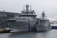 Military ship port of Reykjavik, Iceland