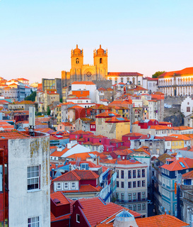 Cathedral Porto Old Town Gaia
