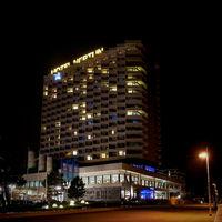 Hotel Neptun on the beach promenade of Warnemuende on the German Baltic Sea coast