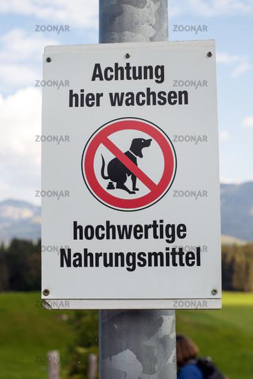 Signs in Allgaeu. 016
