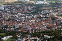 Landau in the Palatinate from a bird's eye view