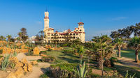 Montaza public park with Royal palace at far end, Alexandria, Egypt