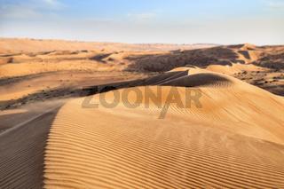 Desert Wahiba Oman