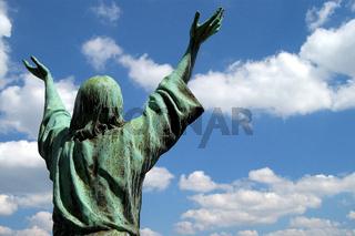 Jesus Statue, Deutschland