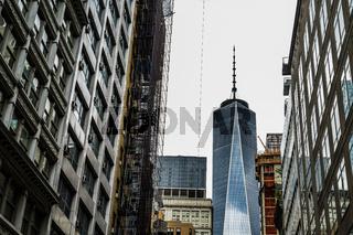 Streets of New York Lower Manhattan