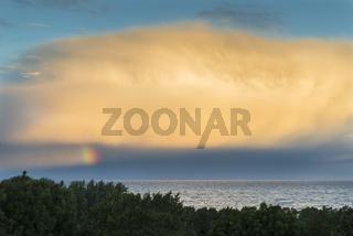 Morgenstimmung ueber dem Meer, Gotland