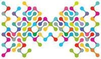 Teamwork symbol, network