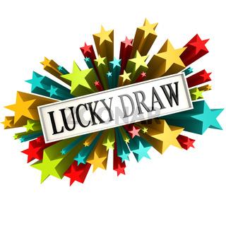 Lucky draw star banner