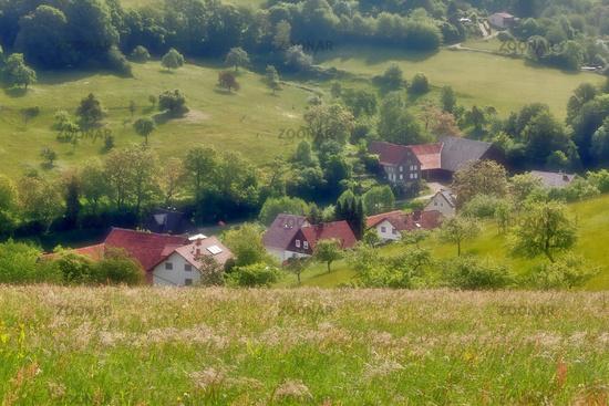 Village in the Odenwald