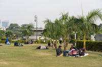 Central Park in New Delhi, India