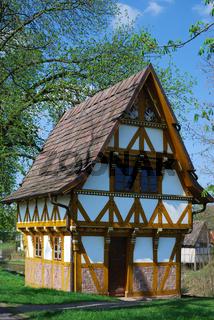 Hafenmeisterhaus Holzminden,Weser,NS,Deutschland