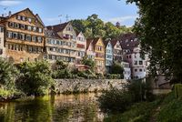 Tuebingen from River Neckar, Germany