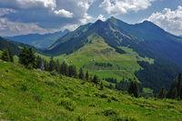 Bregenzer Forest, Austria, alpine landscape