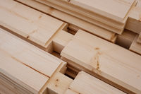 wood house construction material , wooden beams