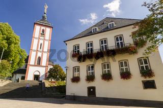 Marktplatz, Rathaus, Nikolaikirche, Siegen,