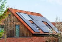 Generic Modern House with Photovoltaic