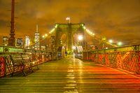 Night of the Brooklyn Bridge