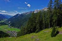 lech valley, lechtal alps, austria, tyrol
