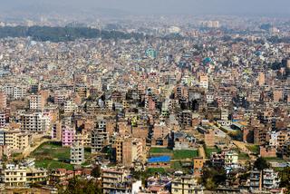 Kathmandu view from Swayambhunath