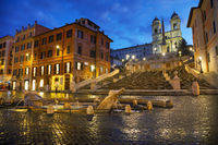 Spanish Steps at Spagna square