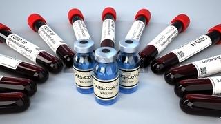 Vaccine Bottles Positive Blood Test Tubes
