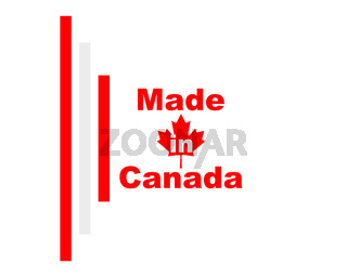 Qualitätssiegel Made in Canada - Quality seal made in Canada