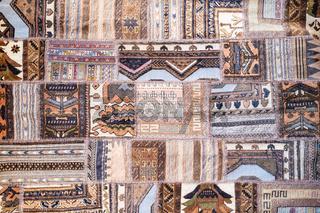 Background of antique handmade turkish kilim rugs