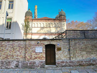 Look at synagogue Jewish community in Halle (Saale)